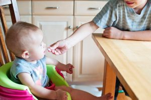 Weaning baby food