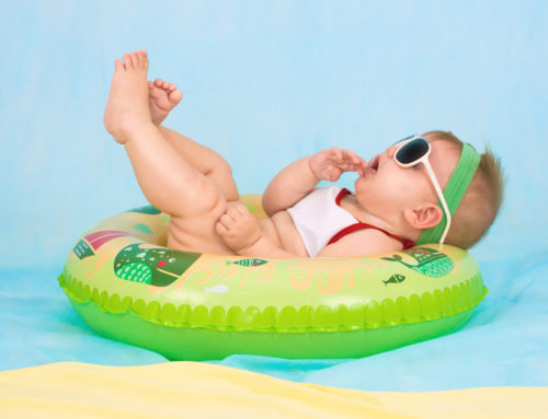 top tips: helping little ones to stay cool & sleep in the heat